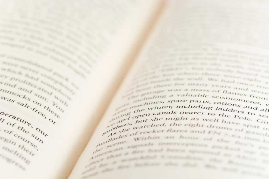 Your medium size book will be formatted and typeset for the publisher.
